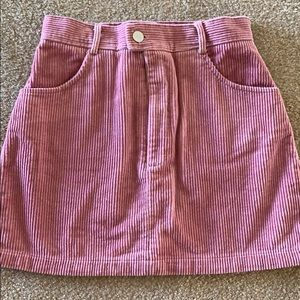 Like new Rose colored mini skirt